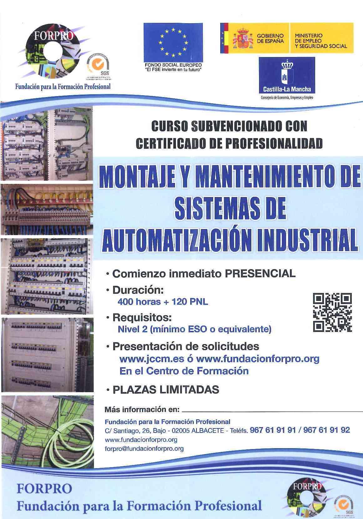 Montaje y mantenimiento de sistemas